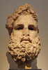 Colossal Head of Zeus in the National Archaeological Museum of Athens, May 2014