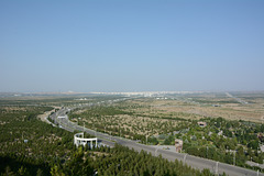 Ashgabat, View from the Health Trail