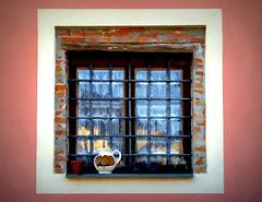 dipingendo una finestra