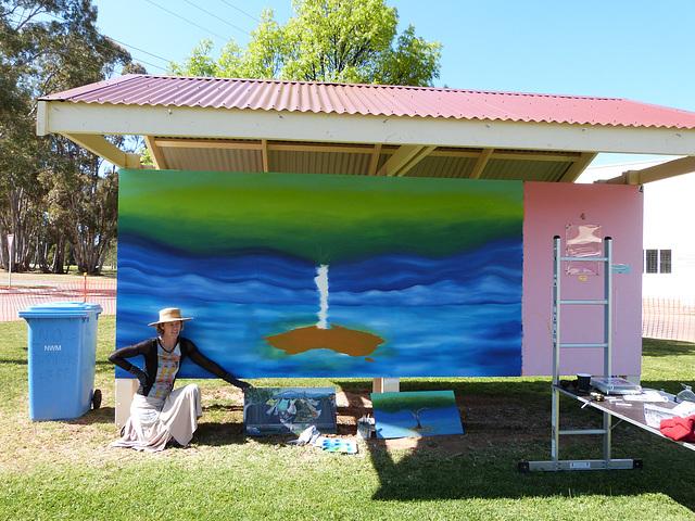 An australian mural, Jamestown SA