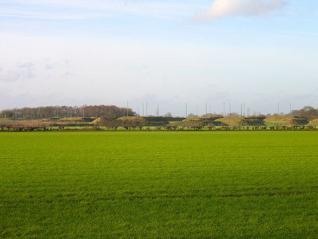 Whittington Storage Depot seen from Hademore