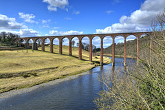 The Leaderfoot Viaduct, Melrose, Scottish Boarders