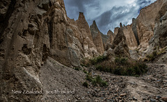 Les canyons néo-zélandais...