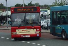 DSCF7796 Halton Borough Transport 19 (KP54 BYN) in Widnes - 15 Jun 2017