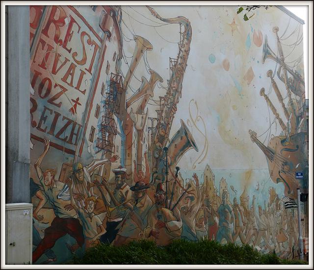 **Fresque à Brest **