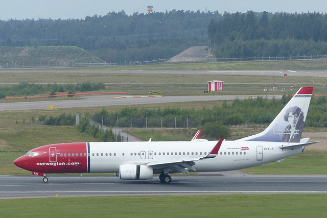 EI-FJE at Helsinki - 5 August 2016