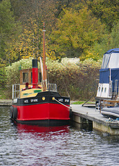'Wee Spark', Forth and Clyde Canal, Bowling