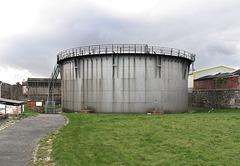 The Carrickfergus gasholder