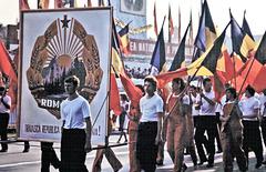 Roumanie (R) 23 août 1979. (Diapositive scannée).