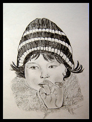 Dessin au crayon