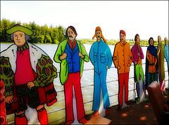 Les visiteurs du lac / Lake visitors