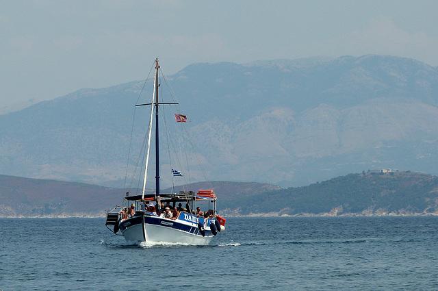 Tour boat, Corfu