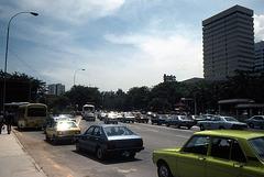 Schon 1981 war in Singapur die Blechlavine sehr gross