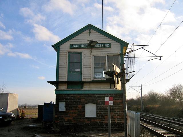 Former Hademore Crossing Signal Box