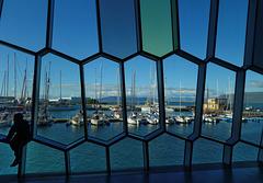 Ausblicke am Hafen