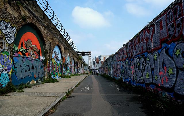 Deptford Creek graffitis