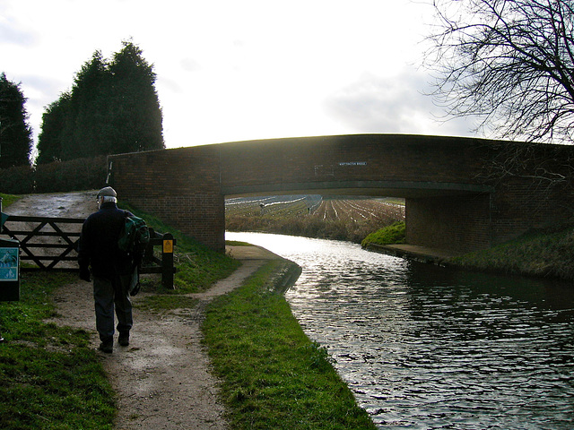 Whittington Bridge on the Coventry Canal