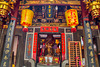 Altar to Mazu at Thian Hock Keng or Tianfu temple in Chinatown, Singapore
