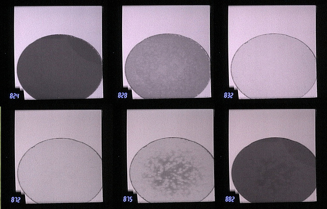 Corroded interference filter-- Selected hyperspectral images