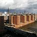 Hamburg, Blick von der Elbphilharmonie