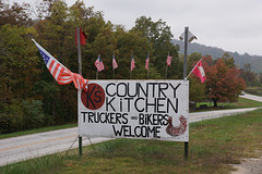 Truckers And Bikers Welcome