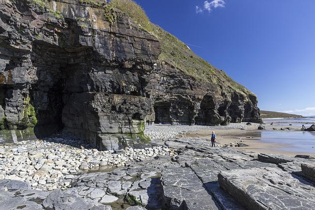Marros west cliffs