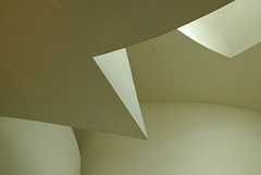 Architectural detail Guggenheim Museum Bilbao