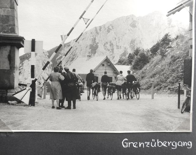 Jugoslawien - Radtour - 4.8. - 17.9.1955 - Loiblpass 1370m