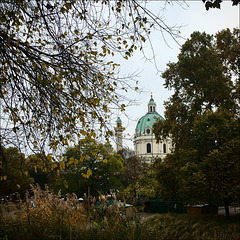 Autumn in Vienna.