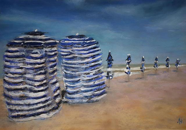 les cabines de Cabourg
