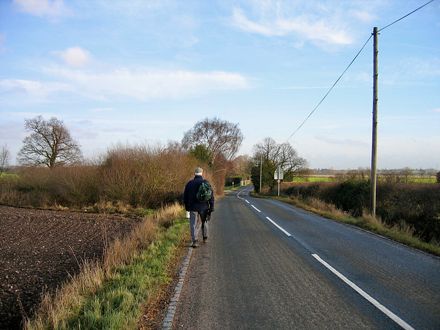 Lane from Hademore to Fisherwick
