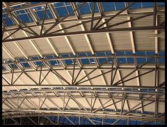 Dachkonstruktion Terminal 1,  Hamburg Airport (EDDH / HAM)