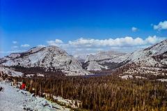 Tenaya Lake from Olmsted Point, Yosemite NP, CA 1980 (045°) - reloaded