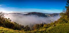 Morning Fog Burning Away...