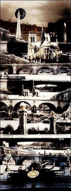 Sous les ponts ...