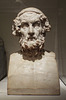Marble Portrait of Homer from Baiae in the Metropolitan Museum of Art, June 2016