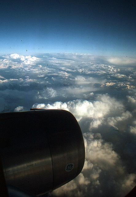Über den Wolken 1981 von Singapur nach Kuala Lumpur