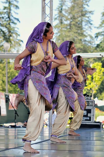 Bhangra folk dance, India origins
