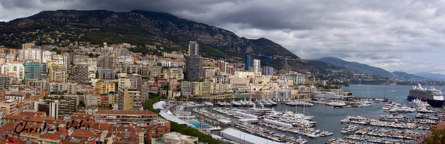 Panorama of the port