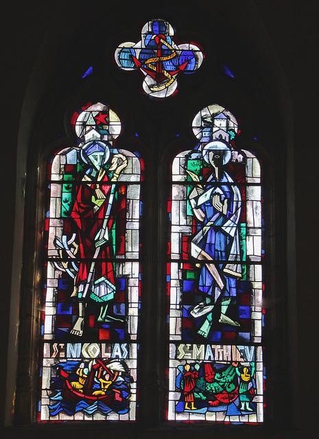 Saint Nicolas et  Saint Matthieu