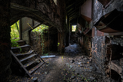 steelworks underground - color
