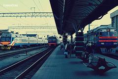 вокзал  города Гомеля