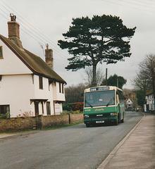 Ipswich Buses J218 NRT - 27 Feb 1994