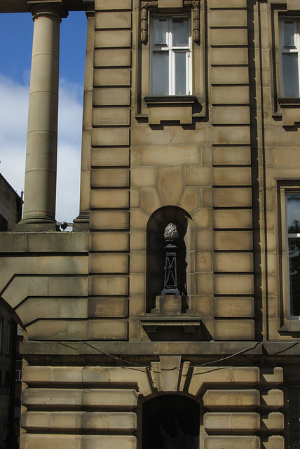 King Georges Hall - detail.