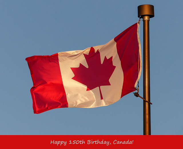 Happy 150th Birthday, Canada