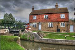 Stoke Lock, River Wey Navigation