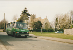 Ipswich Buses K100 LCT - 3 April 1994