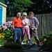 Fred, Barbara, and me