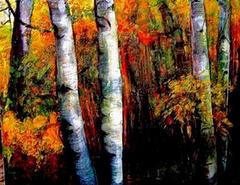 """Feux  de l'automne.   """"L'automne, l'enchantement des yeux...""""  Pouchkine"""