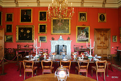 Raby Castle Dining room
